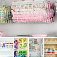 17 Ridiculously Clever Storage Furniture & Ideas For Your Craft Room