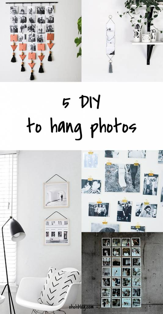 5 Ways to Hang Photos on the Wall