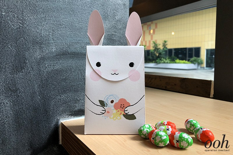 Printable Easter Bunny Gift Bag