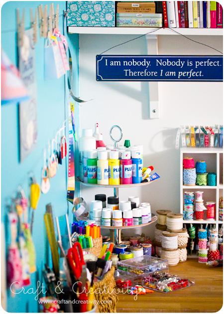 Craft Room Tour | Craft & Creativity
