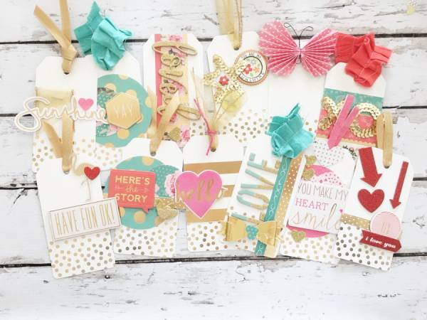 How to Use Your Stash to Make Scrapbook Embellishments