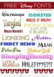39 Disney Fonts - Moana, BFG, Zootopia + More