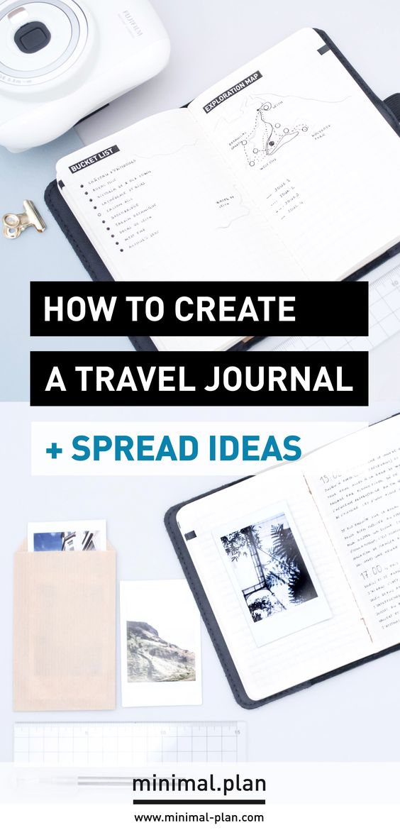 Plotting and Documenting Adventures in a Travel Journal