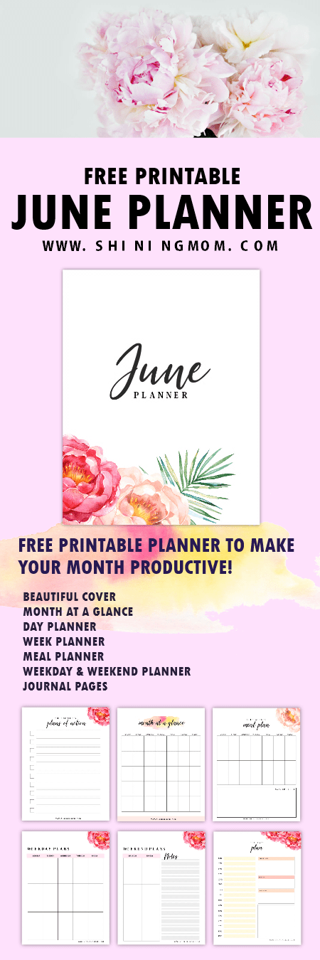 Printable June Planner to Make This Month Amazing!