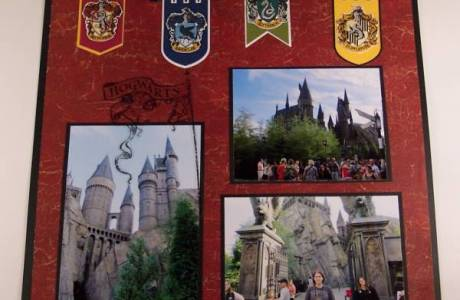 Wizarding World of Harry Potter Scrapbook