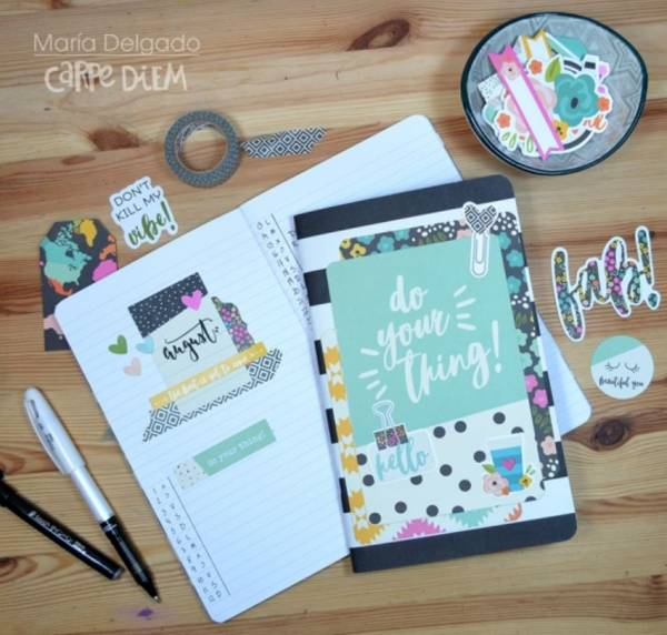 August Planner Bullet Pages