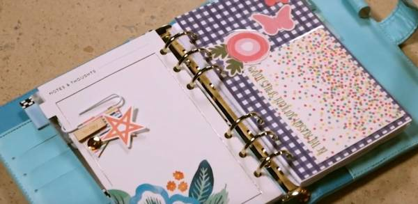 Laminated Planner Dividers