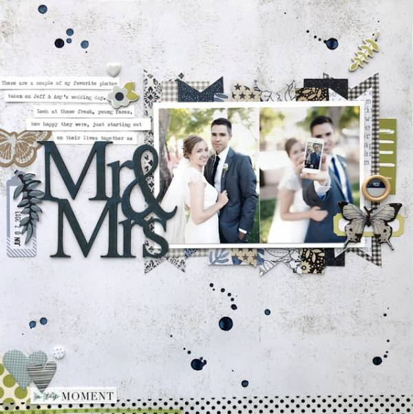 Mr. and Mrs. Wedding Page