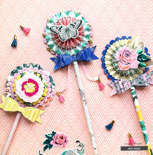 Paper Wands - Kids Craft