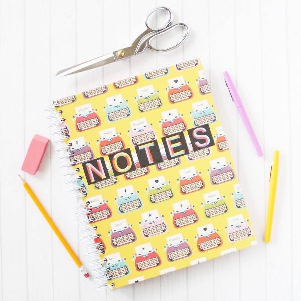 DIY Spiral Notebooks