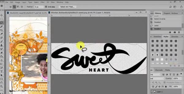 How to Customize Word Art in Photoshop