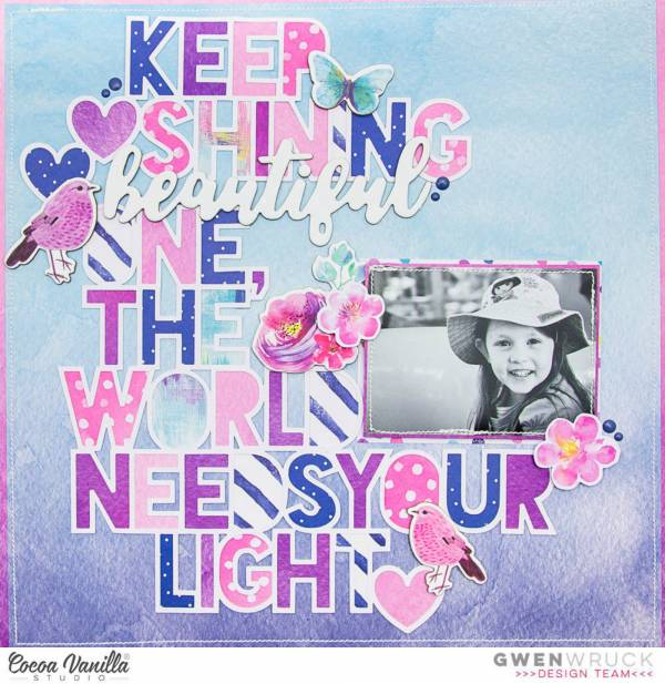 Keep Shining Layout