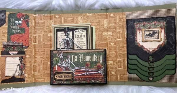 Mystery Themed Mini Folio Album