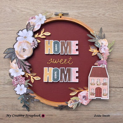Home Decor Project with Paper