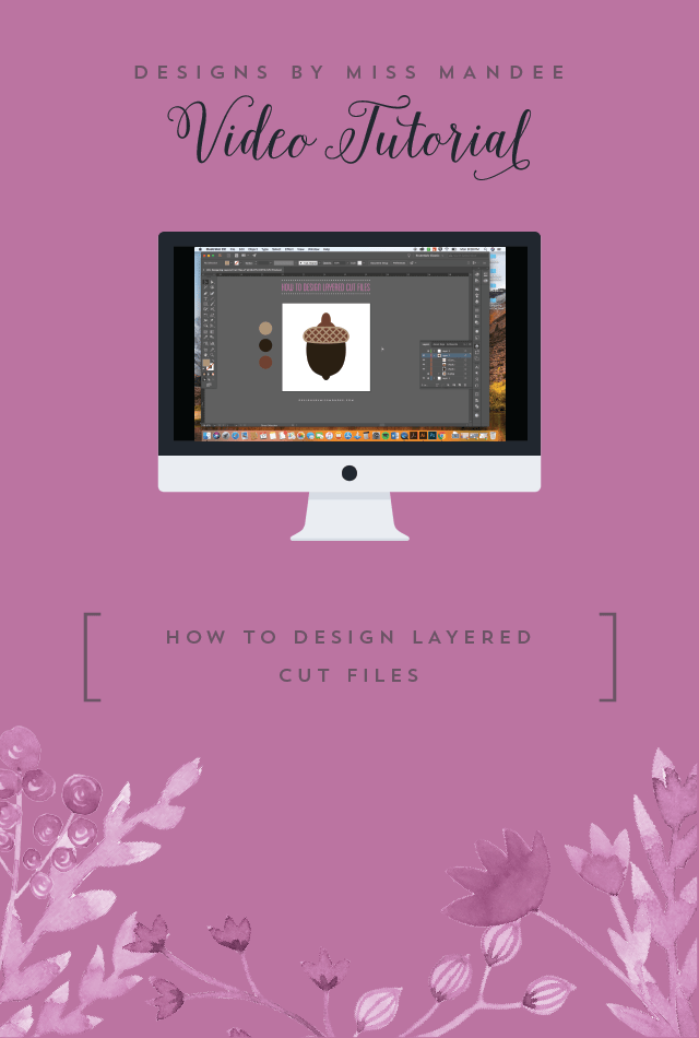 How to Design Your Die Cut Files