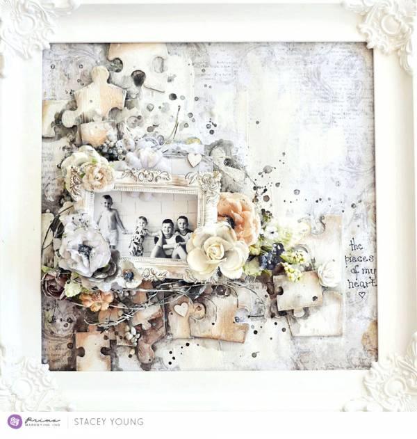 Puzzle Piece Embellishments