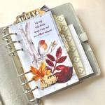 Using Die Cuts in Your Planner