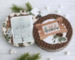 Christmas Winter Shaped Mini Album
