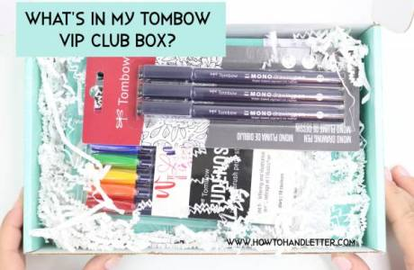 New Tombow Pens Review