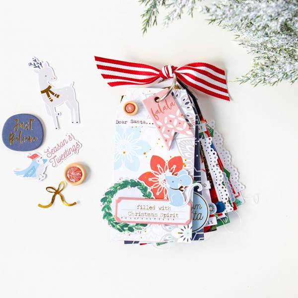Christmas Mini Tag Album