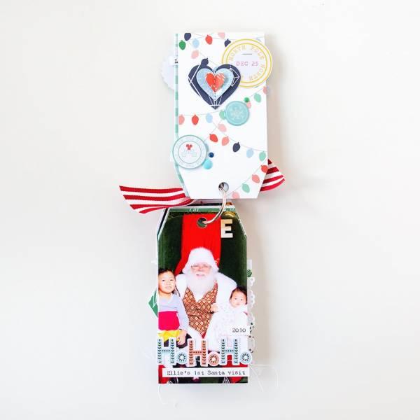 Christmas Mini Tag Album