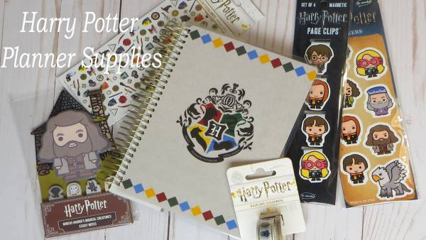 Harry Potter Planner Supplies