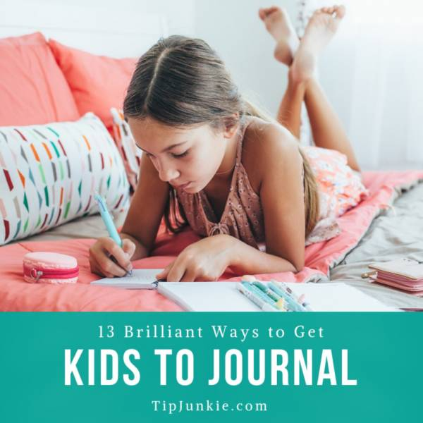 13 Ways to Get Kids to Journal