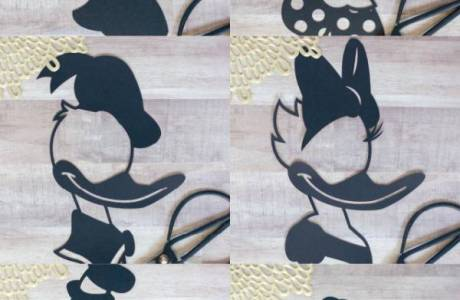 Mickey and Friends Die Cuts