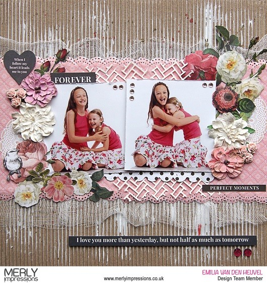 Sisters Love Layout