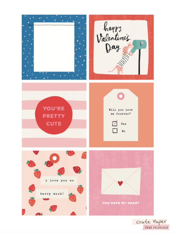 12 Valentine's Day Printables