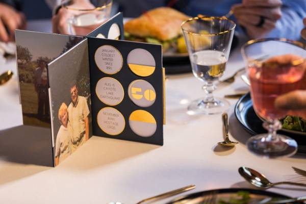 Anniversary Table Centerpiece