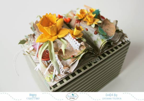 Fairy Garden Book with 3D Flowers
