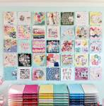 Pretty Craft Room Organization Ideas
