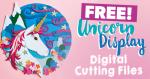 Unicorn Die Cut File Download