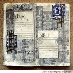 Film Strip Stamped Traveler's Notebook