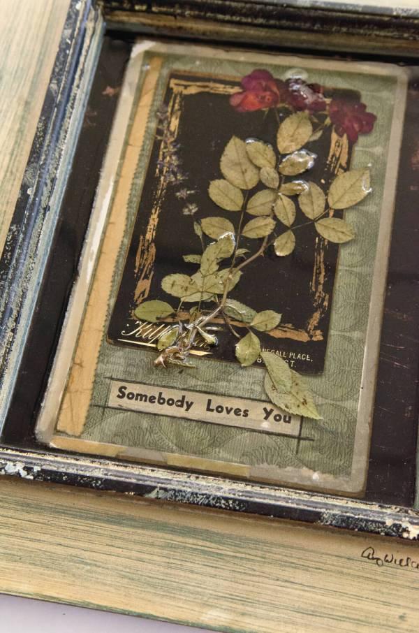 Flower Memory Frame