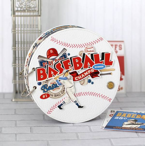 Baseball Shaped Mini Album