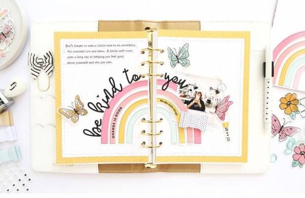 Be Kind to You Planner Page