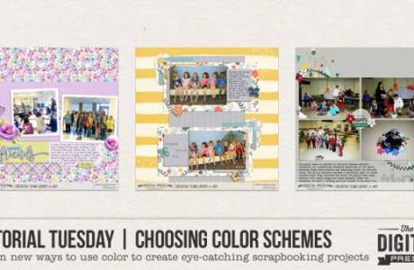 Choosing Color Schemes for Scrapbooking