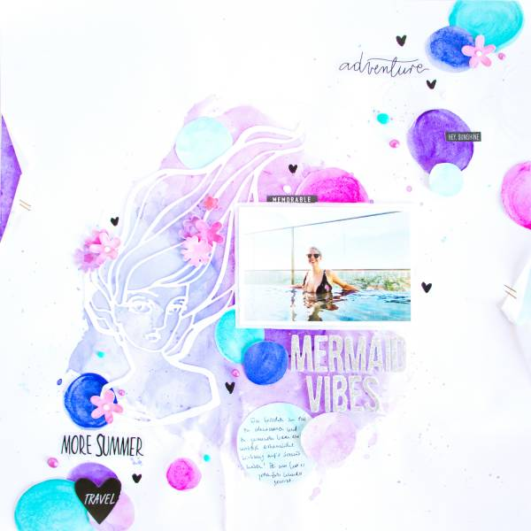 Mermaid Vibes Page