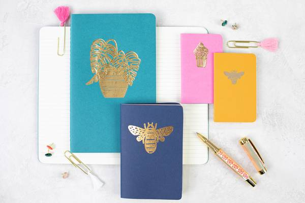 Gold Foil Notebooks