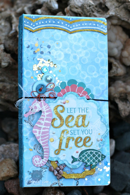 Under The Sea Travel Journal Cover