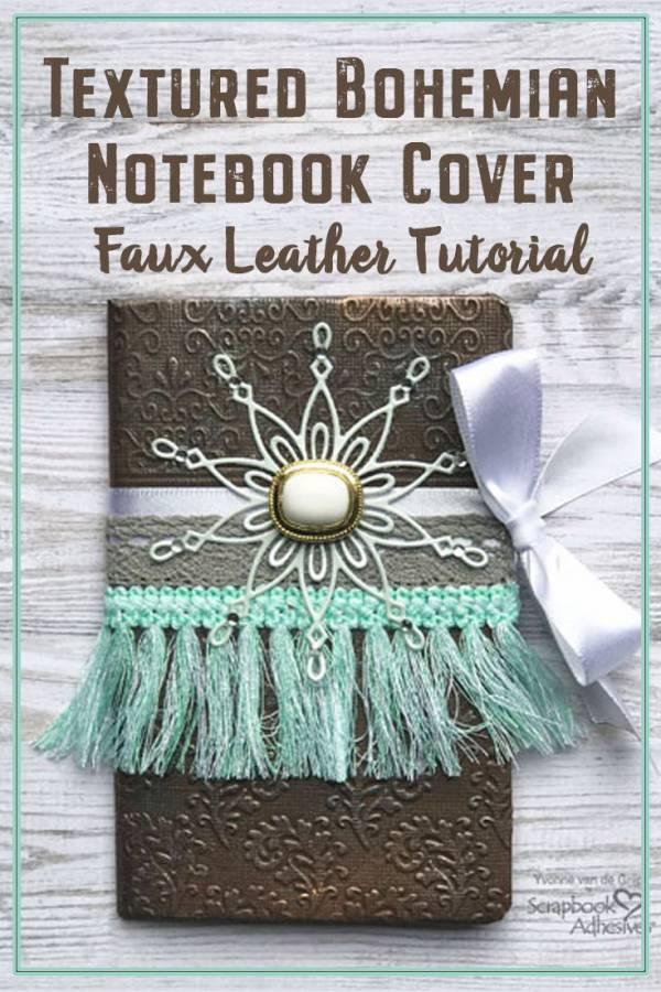 Faux Leather Notebook Cover