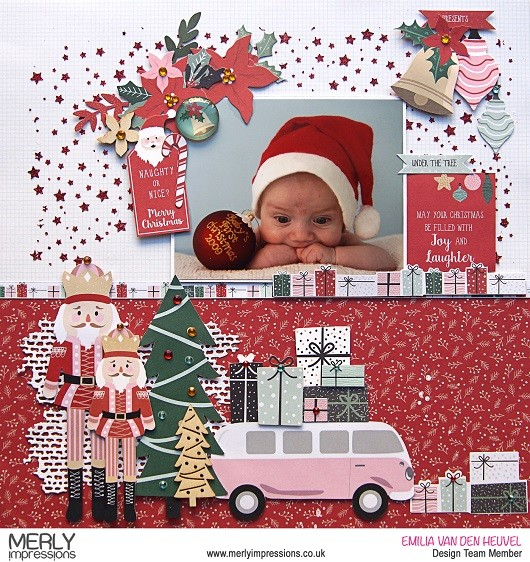 Christmas Baby Layout