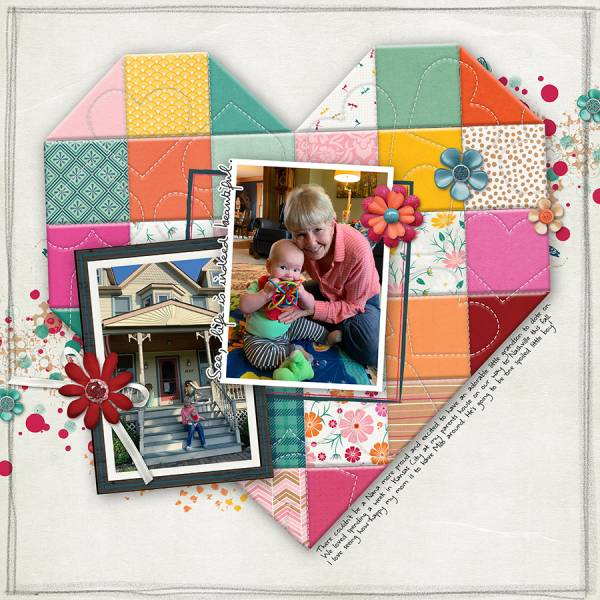 Digital Quilting Layout