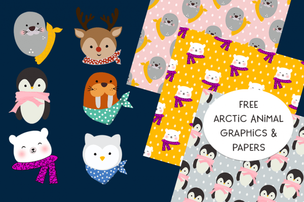 Arctic Animals Printables