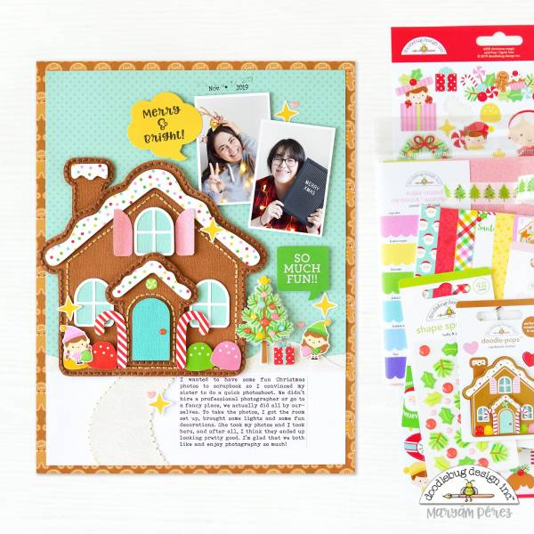 Gingerbread House Layout