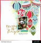 Christmas Ornaments Layout