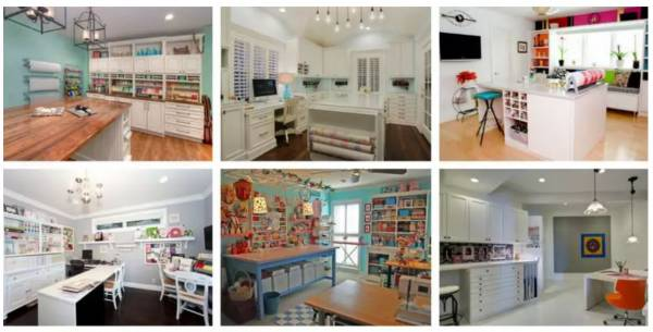 23 Craft Room Ideas