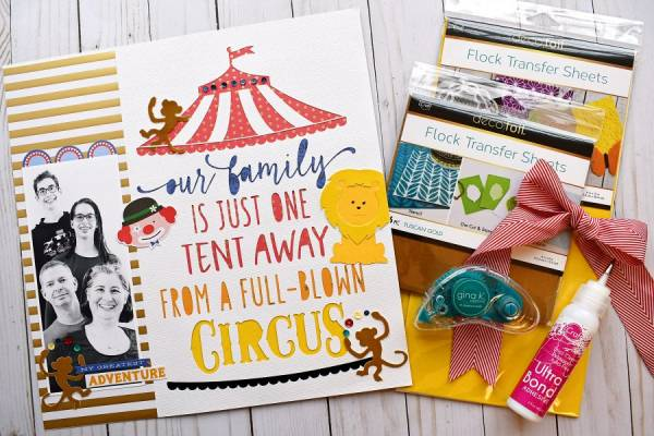 Circus Family Layout with Flocking